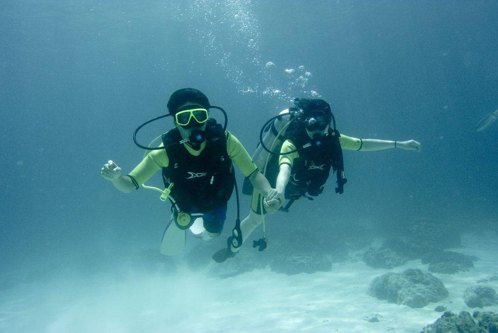 ハネムーンで体験ダイビング#プーケット