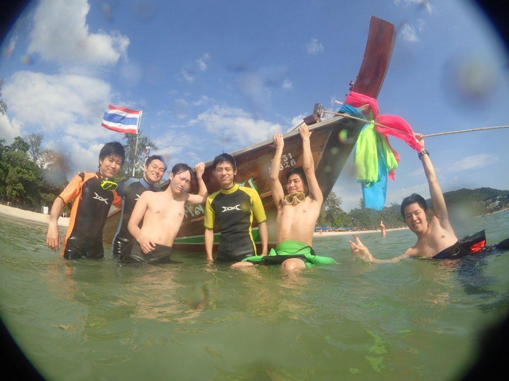 カタビーチで体験ダイビング!プーケット