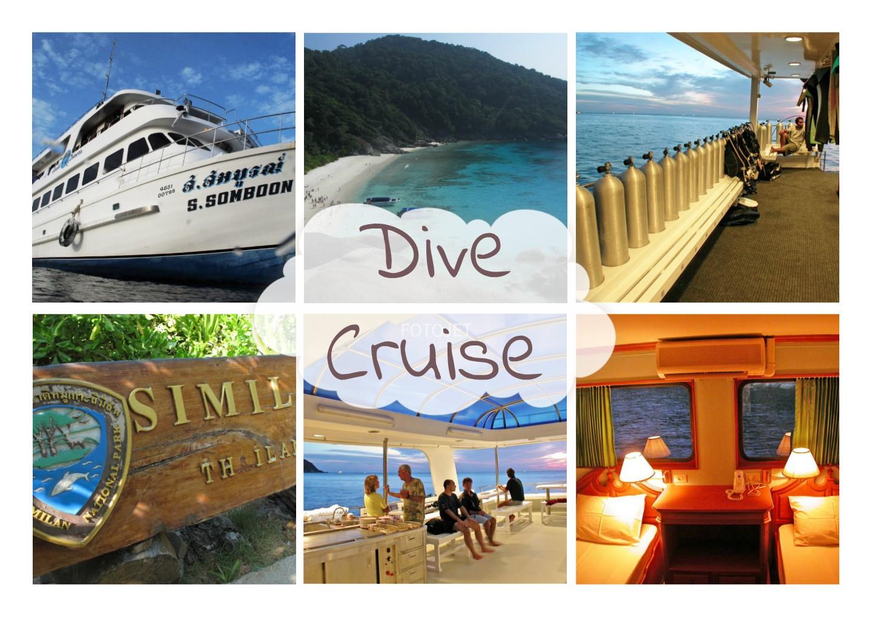 Similan Dive Cruise プーケット・カタダイビングサービス