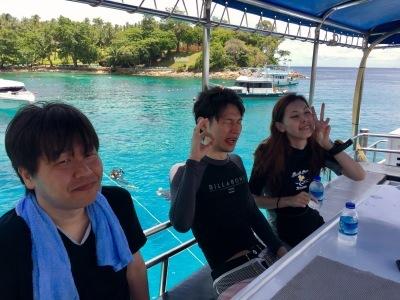 8月12日 ファンダイビング&体験ダイビング@ラチャヤイ島