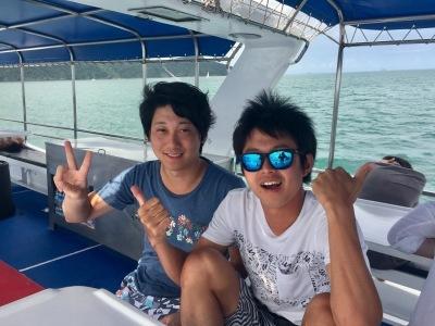 9月02日 体験ダイビング@ラチャヤイ島