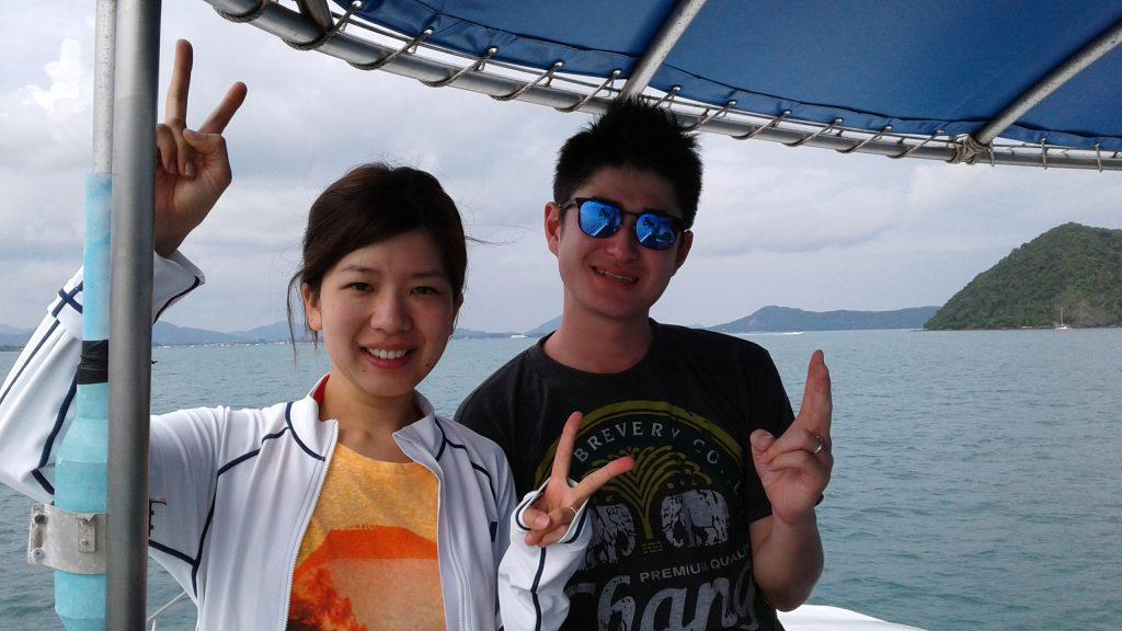 11月6日 ラチャヤイ島体験ダイビング