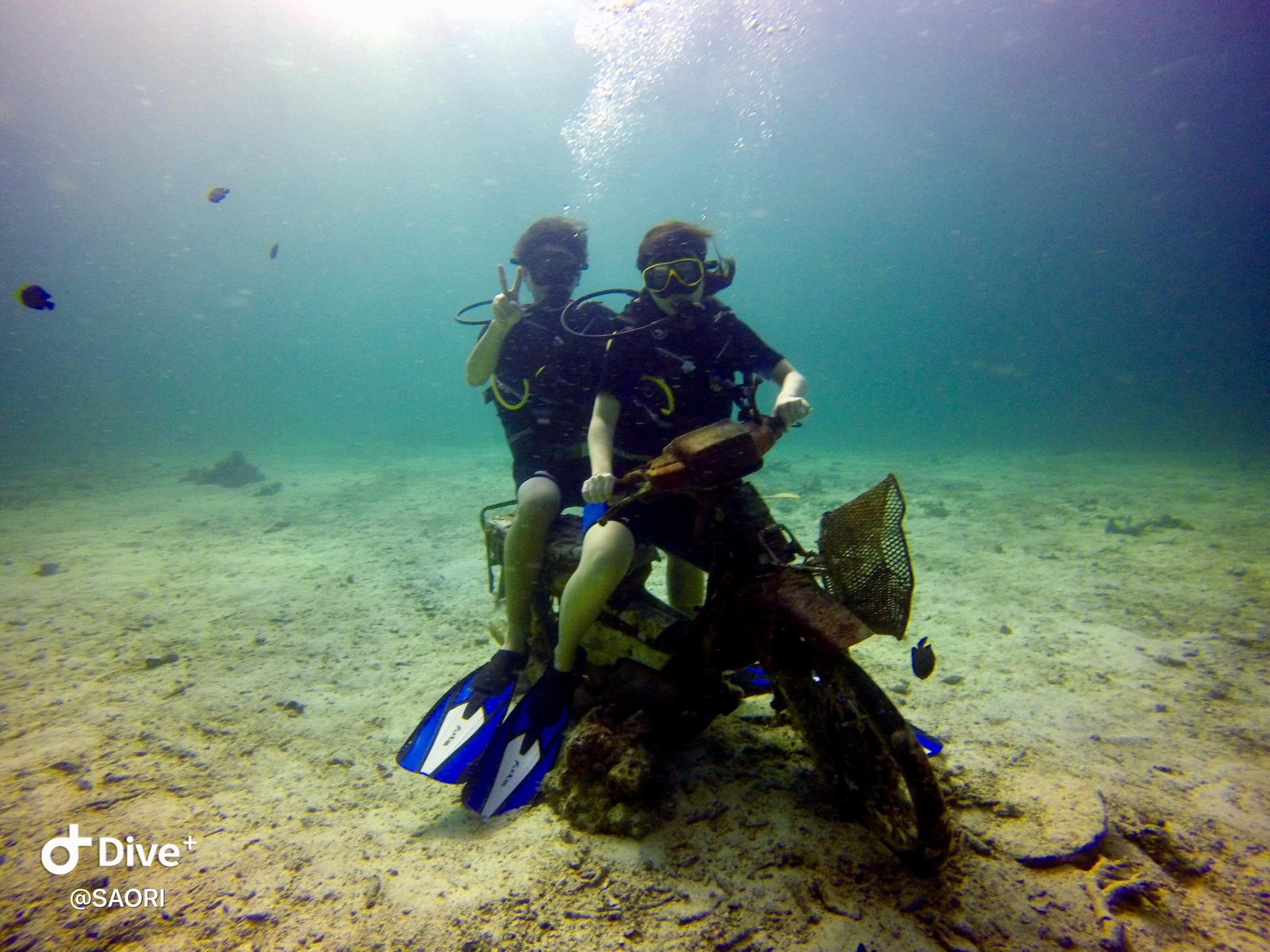 12月5日 体験ダイビング@ラチャノイ&ヤイ島3ダイブ