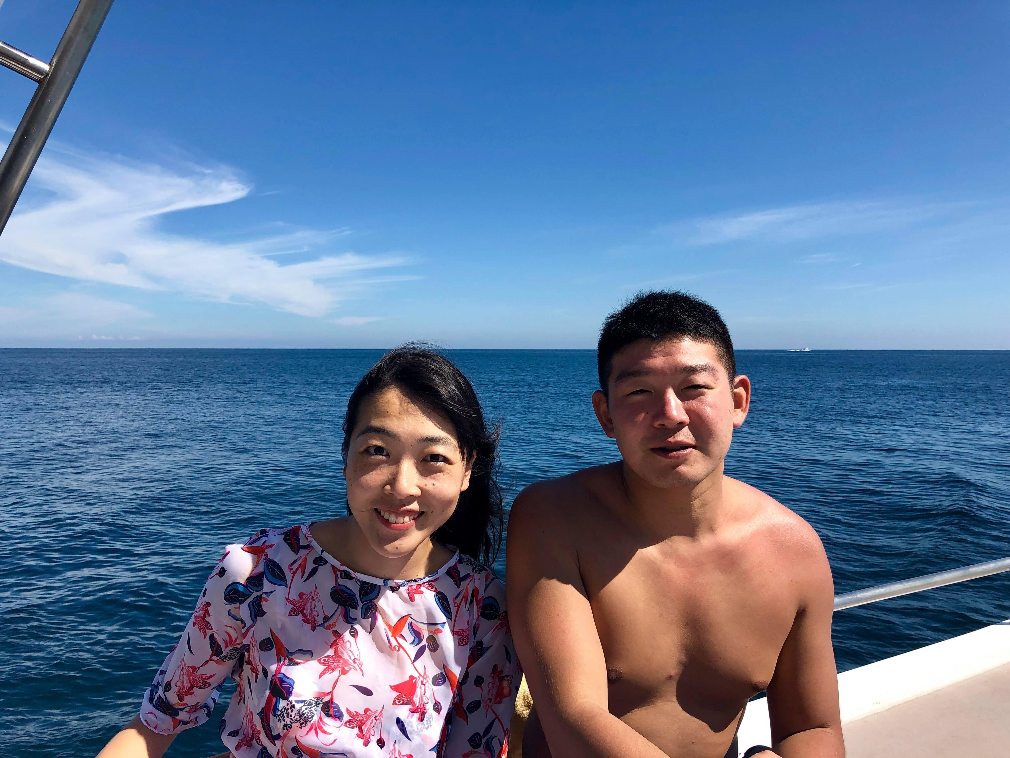 12月28日 体験ダイビング@ラチャヤイ島2ダイブ