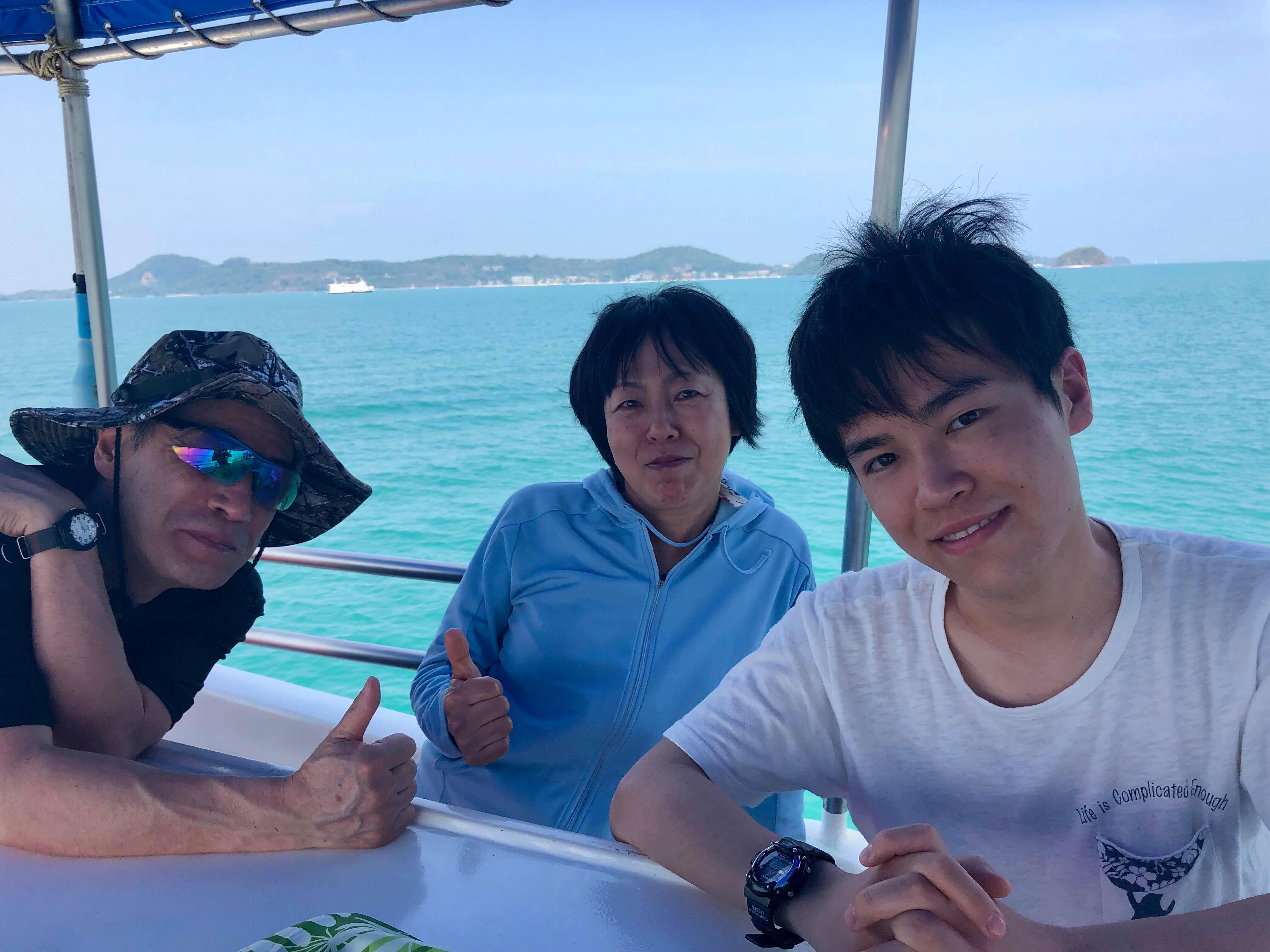 2019年3月18-19日 体験ダイビング@ラチャヤイ&ラチャノイ2日間