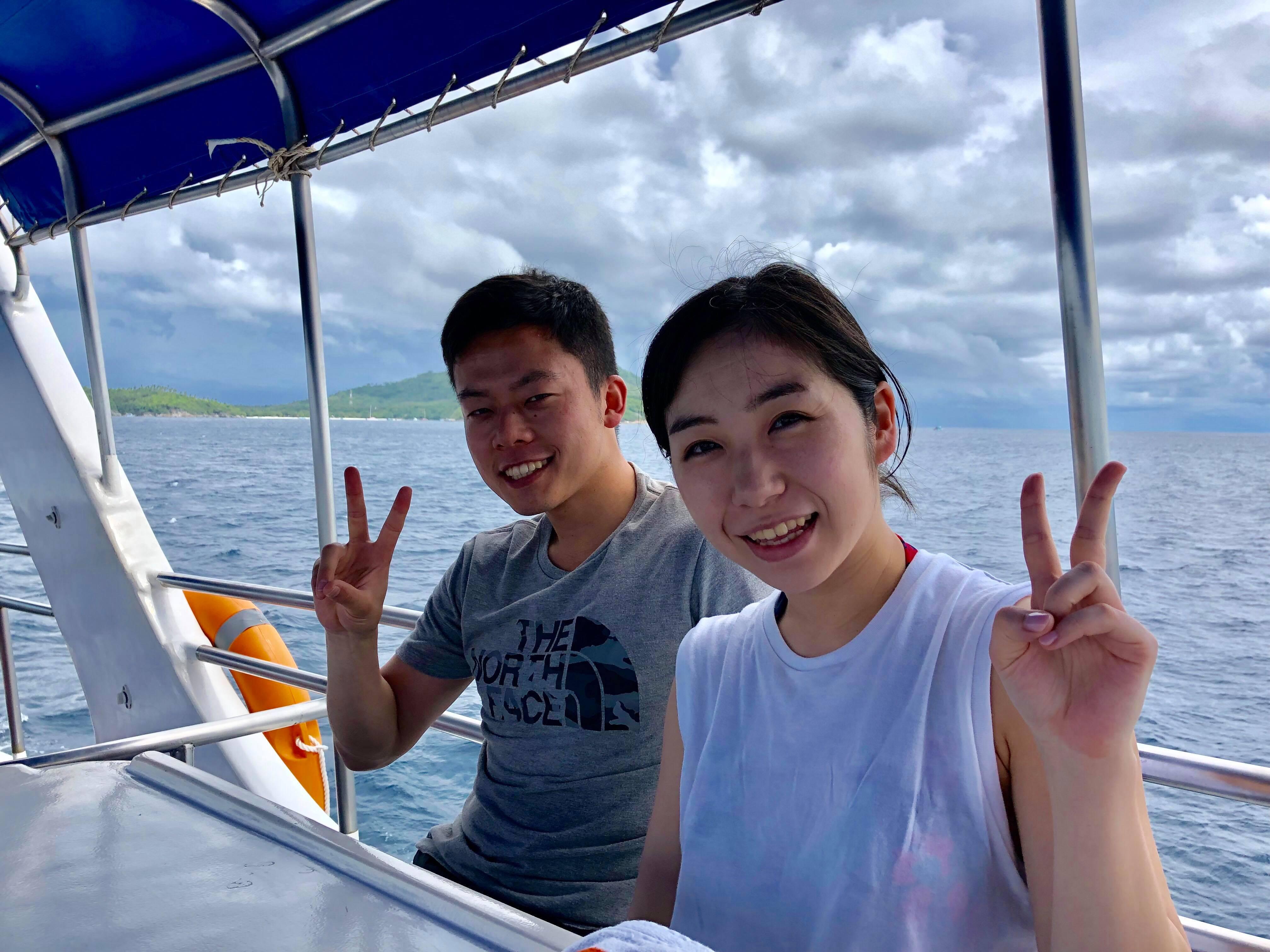 2019年6月6日 体験ダイビング@ラチャヤイ島2ダイブ