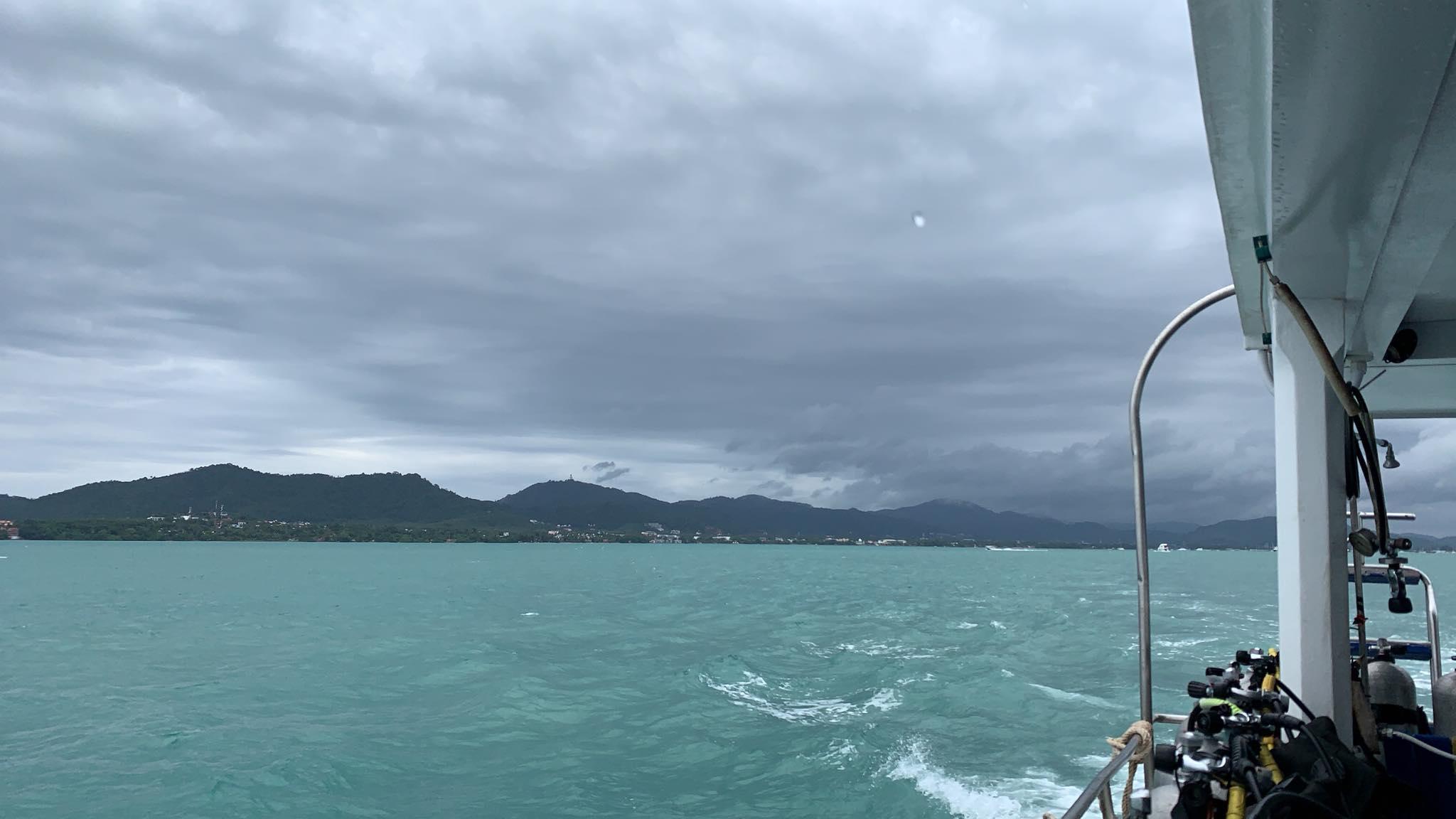 2019年8月30日 体験ダイビング@ラチャヤイ島2ダイブ
