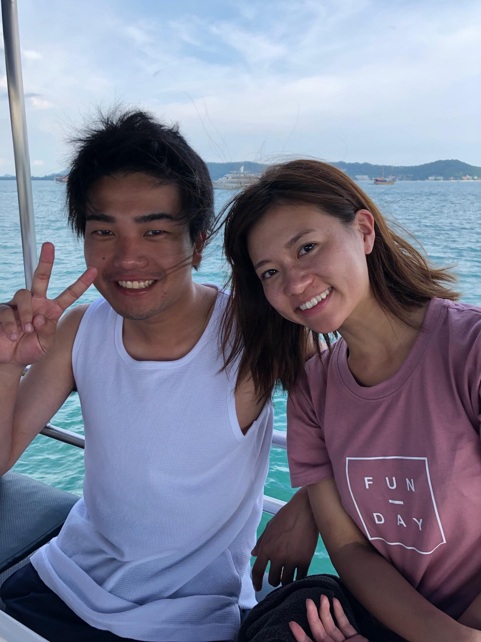 2019年9月11日 体験ダイビング@ラチャヤイ島2ダイブ