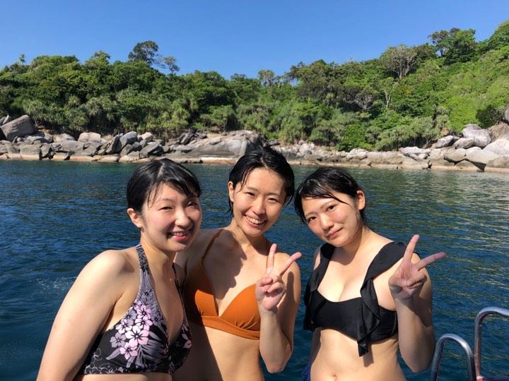 2019年11月22日 体験ダイビング@ラチャノイ&ヤイ島3ダイブ