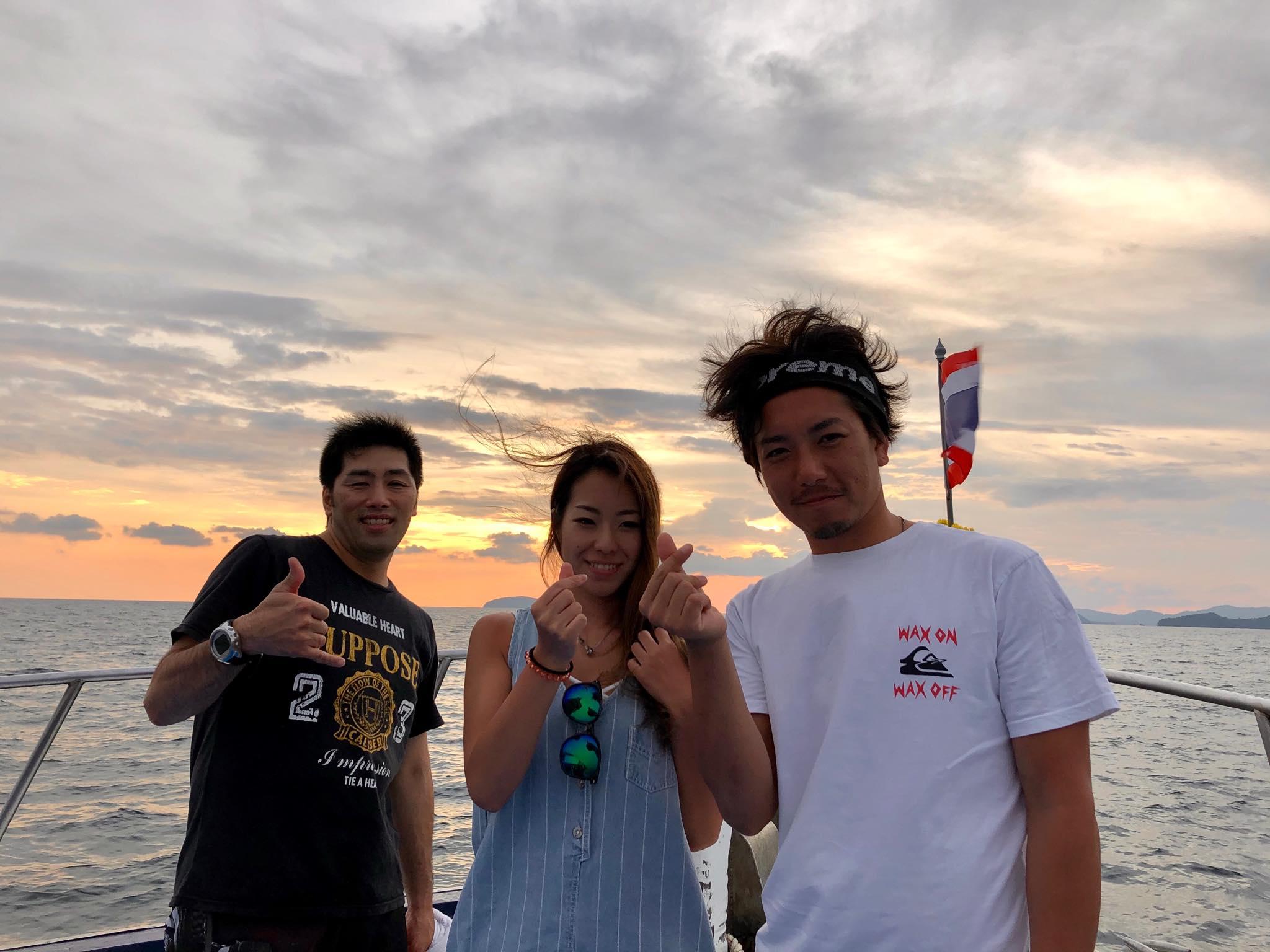 2019年11月06日 ファンダイビング@ピピ島方面3ダイブ