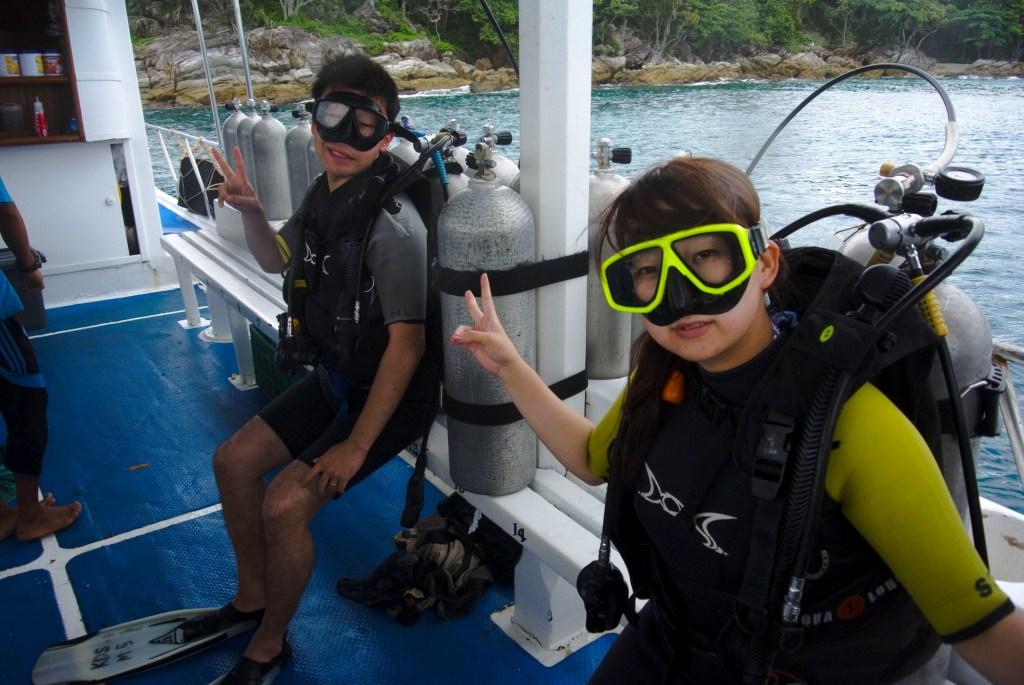 プーケットの体験ダイビングはラチャヤイ島!